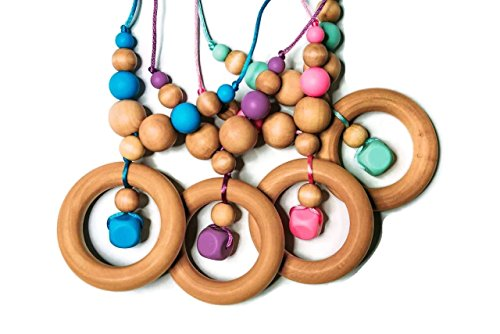 Silicone Hardwood Necklace Collection Blueberry product image