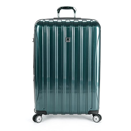 (Delsey Luggage Helium Aero 29 Inch Expandable Spinner Trolley, One Size - Teal )