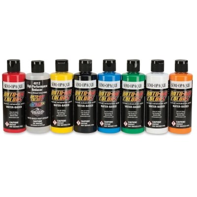 Auto Air Colors 4200 Series Semi Opaque Set, 4oz. ()