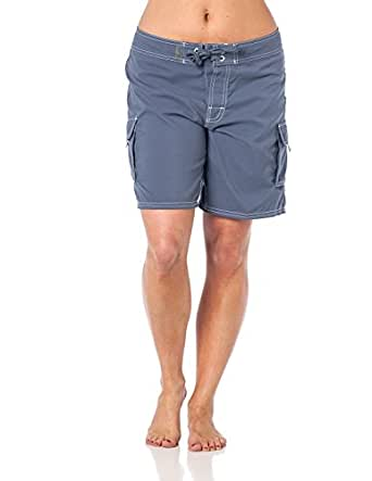 Womens Beach Ray Boardshort Swimwear Grey2 12