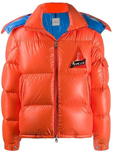 Moncler Luxury Fashion Mens Down Jacket Winter Orange (Men Color Moncler Jacket)