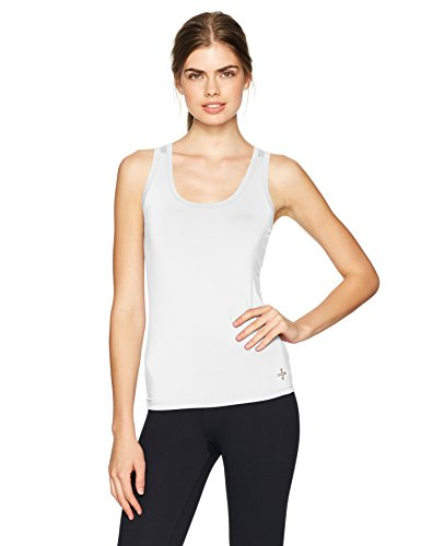 Tommie Copper Women's Core Compression Tank Top, White, (Core Compression Shirt)