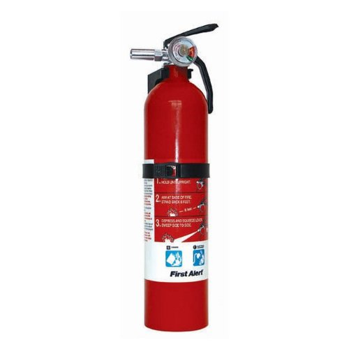 First Alert (BRK) Home Workshop & Garage Fire Extinguisher (10-B:C) Sold in packs of 4