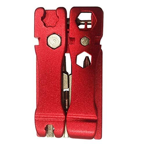 20 in 1 Multifunction Bicycle Bike Mechanic Repair Tool Kit Handheld Folding Cycling Emergency Repair Tools Set (7x4mm…