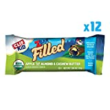 Clif Kid ZBAR Filled - Organic Granola Bars - Apple Almond Butter - (1.06 Ounce Energy Bars, Kids...