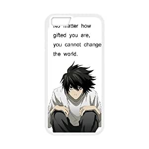 iPhone 6 Plus 5.5 Inch Cell Phone Case White Death Note 005 VC968166