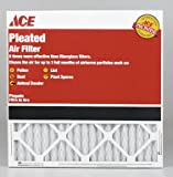 12 each: Ace Pleated Furnace Air Filter (84804.011624)