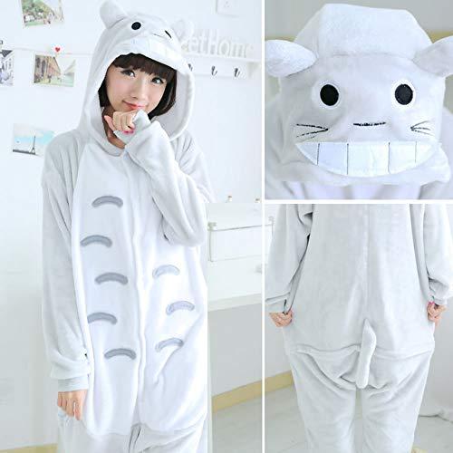 Traje Conjuntos Entera Pijamas Ropa Dormir Pieza De Unicornio Invierno Cosplay Una Totoro Jylw Casa Mujer cwBqxAztA8