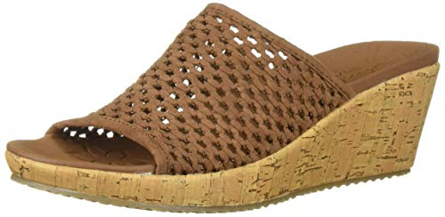 Buy brown wedge sandals 10