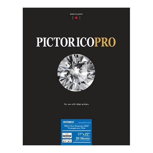 Ohp Transparency (Pictorico TPS100, Ultra Premium Over Head Projector Transparency Inkjet Film, 184gsm, 5.7mil., 17x22