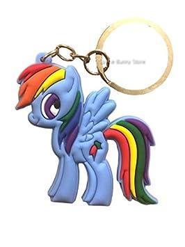 Amazon.es: My Little Pony Rainbow Dash Keychain / Bag Charm ...