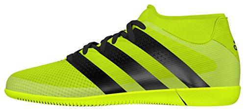 adidas Ace 16.3 Primemesh In J, Botas de Fútbol Para Niños Amarillo (Amasol / Negbas / Plamet)