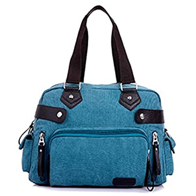 JOYSKY HB440077 New Style Canvas Korean Style Women's Handbag,Square Cross-Section Motorcycle Bag