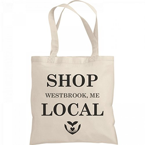Shop Local Westbrook, ME: Liberty Bargain Tote - Shopping Westbrook