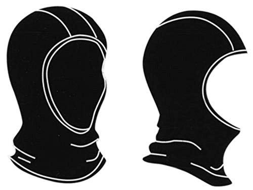 Gordini Lavawool Fleece Balaclava Black S & Performance Headband ()