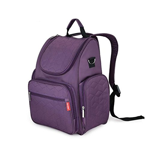 lanpet-baby-diaper-bag-smart-organizer-waterproof-travel-diaper-backpack-with-changing-pad-and-strol