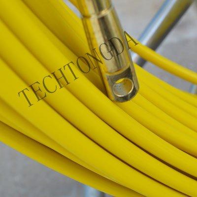 Fish Tape Fiberglass Wire Cable Running Rod Duct Rodder Fishtape Puller 10mm by Techtongda Fishtape (Image #1)