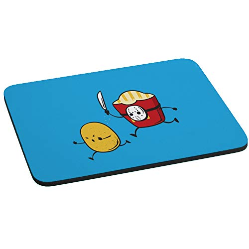 French Fried Jason Funny Horror Film Parody Computer Mouse Pad