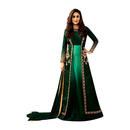 Bollywood Kareena Kapoor Festival Collection Anarkali Salwar Kameez Suit Ceremony Punjabi Muslin Eid 564