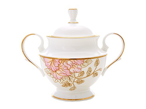 (Lenox Marchesa Painted Camellia Sugar Bowl)