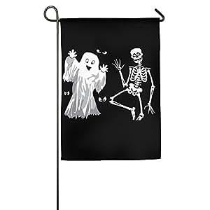 Hello Halloween casa bandera de banderas, banderas, banderas al aire libre decorativa, Patio, Casa bandera