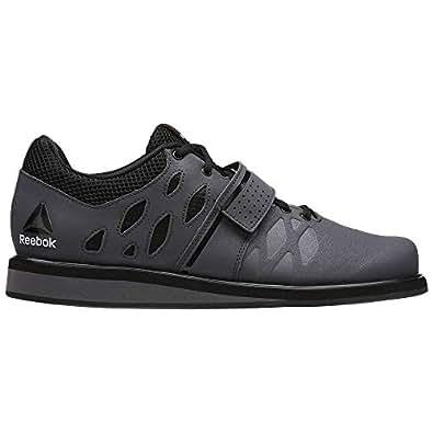 Reebok Men's Lifter Pr Cross-Trainer Shoe, Ash Grey/Black/White, 6.5 M US