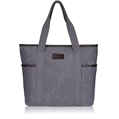 Canvas Tote Bag for Women,Sunny Snowy Large Tote Bags,Work School Shoulder Bag