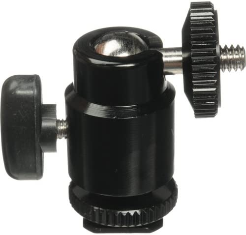 Vello Multi-Function Ball Head with Removable Top /& Bottom Shoe Mounts