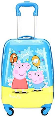 Ly-lgb with 18 inch Childrens Trolley case Universal Wheel Cartoon Suitcase Primary School Trolley Bag