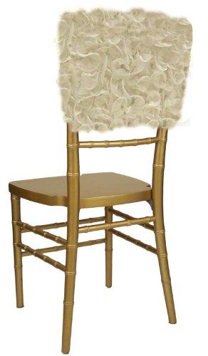 Wildflower Linen Isabella Chiavari Chair Cap, Ivory