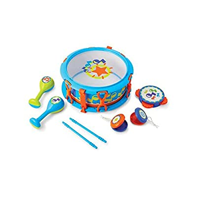 Kidoozie My First Drum Set - Includes 6 Instruments