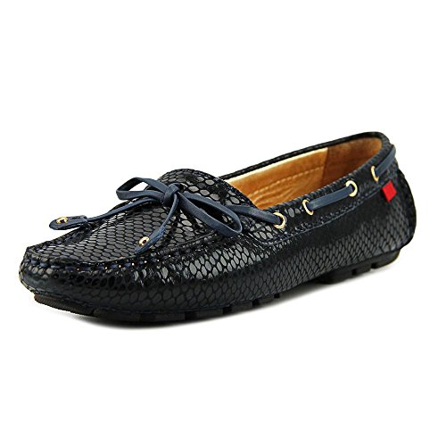 - MARC JOSEPH NEW YORK Womens Genuine Leather Made in Brazil, Navy Snake, Size 7.5