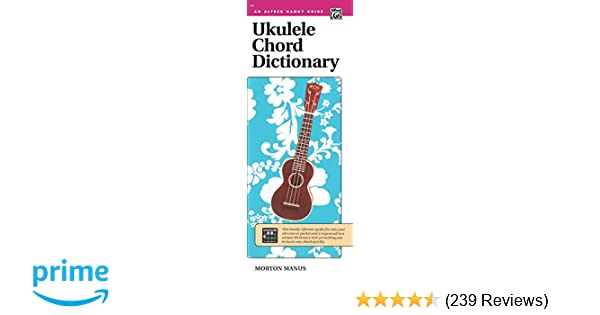 Amazon com: Ukulele Chord Dictionary: Handy Guide (Alfred Handy