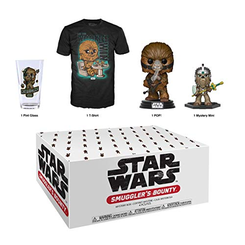 Funko Star Wars Smuggler's Bounty Subscription Box, Wookie Theme, April 2019, XXL T-Shirt