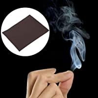 Pmw® - Smoke Magic Trick - Magic Trick Smokes Surprise Prank - Fire Paper - Joke Mystical Fun from Finger Tips - 1 Paper - 9 cm x 7 cm App
