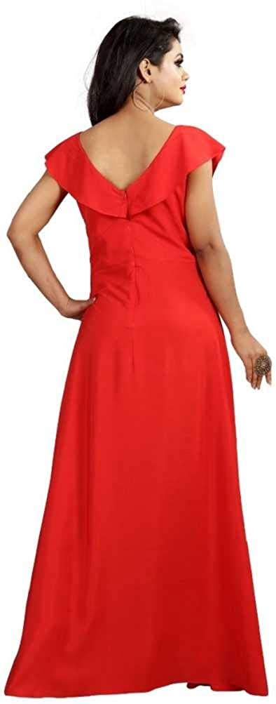 d72b5a9fb42 Ruchiket Women s Cocktail Dress (Red)  Amazon.in  Clothing   Accessories