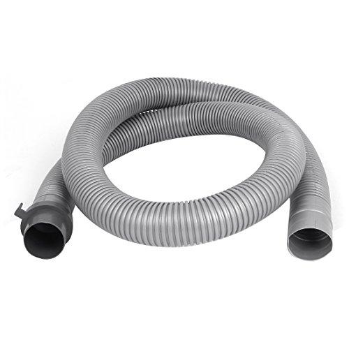 Plastic Washer Washing Machine Waste Water Drain Hose Pipe 4Ft Gray