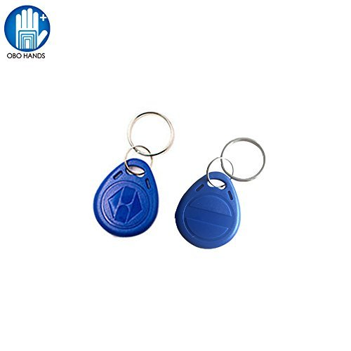 OBO HANDS EM4305 Copy Rewritable Writable Duplicate RFID Tag - Can Copy EM4100 125khz Card Proximity Token Keyfobs(20) by OBO HANDS