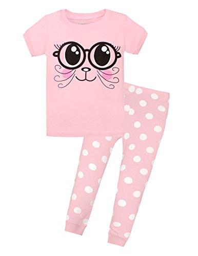 UPC 667322486167, Viobarmo Children Pajama Set Kids T Shirt Top & Pants 100% Cotton Sleepwear (2-7 Years)