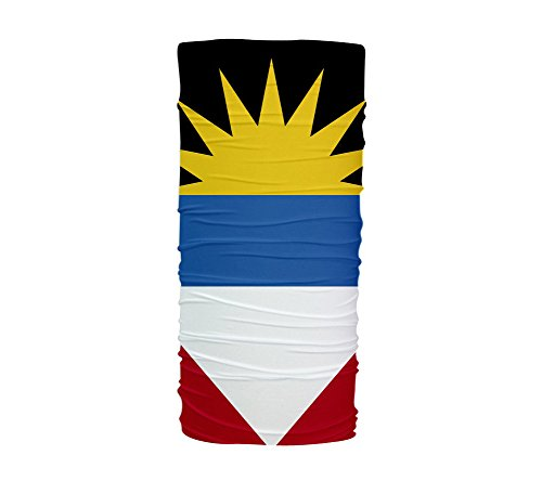 ScudoPro Antigua And Barbuda Flag Multifunctional UV Protection ()