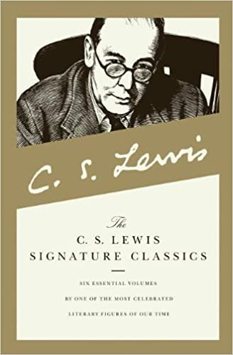 c s lewis signature classics mere christianity the screwtape letters a grief observed the problem of pain miracles and the great divorce boxed set