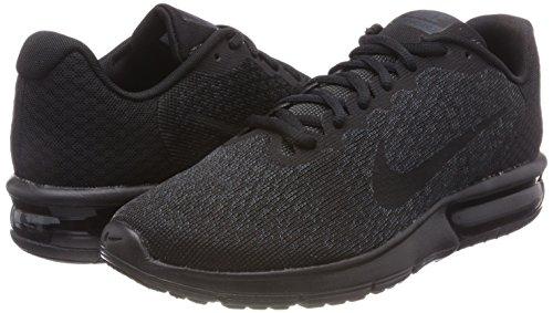 Max US NIKE Shoe Men's D 2 M Black Air 8 Running Sequent Black nnOEAagxWv