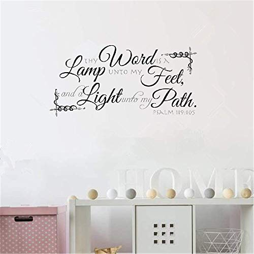 Be A Light Unto My Path Bible Verse in US - 1