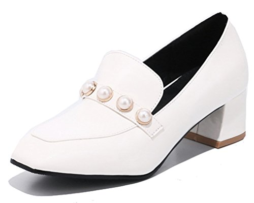 HiTime Basse Donna bianco Stringate Scarpe nnwaOqFR