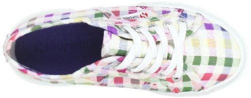Superga 2750- COTJ FABRIC 7 S006970 Unisex-Kinder Sneaker Mehrfarbig (SquareMulticolorBlue A29)