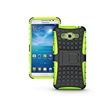 Galaxy Grand Prime Case, NOKEA [Kickstand] [Drop Protection] [Shock Reduction] [Anti-Skidding] [Heavy Duty Protection ] Premium Bumper Case for Samsung Galaxy Grand Prime G530 (Green)