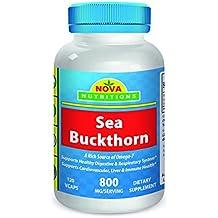 Sea Buckthorn 800 mg per serving 120 Vcaps by Nova Nutritions