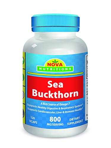 Cheap Sea Buckthorn 800 mg per serving 120 Vcaps by Nova Nutritions