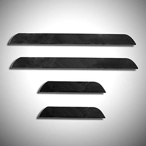 Cobear 4d Kohlefaser Einstiegsleiste Schutz Aufkleber Reflektierende Lackschutzfolie Für 116i 118d 118i 120d 120i 130i E81 E82 E87 E88 Einstiegsleisten 4 Stück Auto