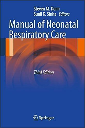 Book Manual of Neonatal Respiratory Care (2012-02-12)